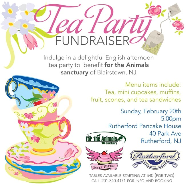 post tea party flyer background designs 259255