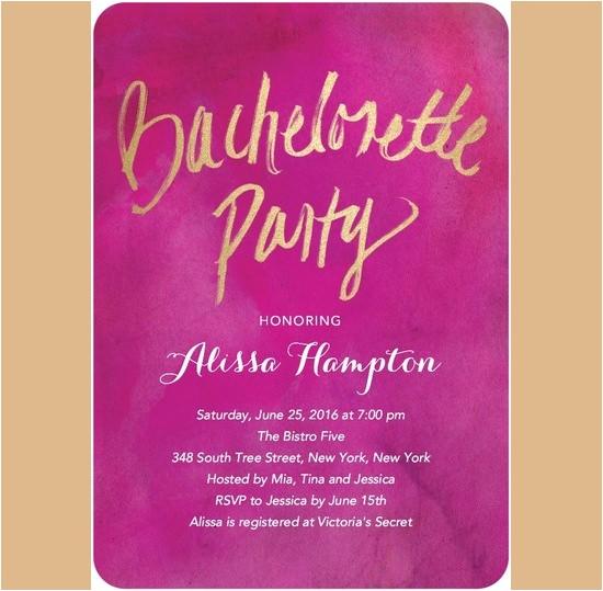 bachelorette invitation template