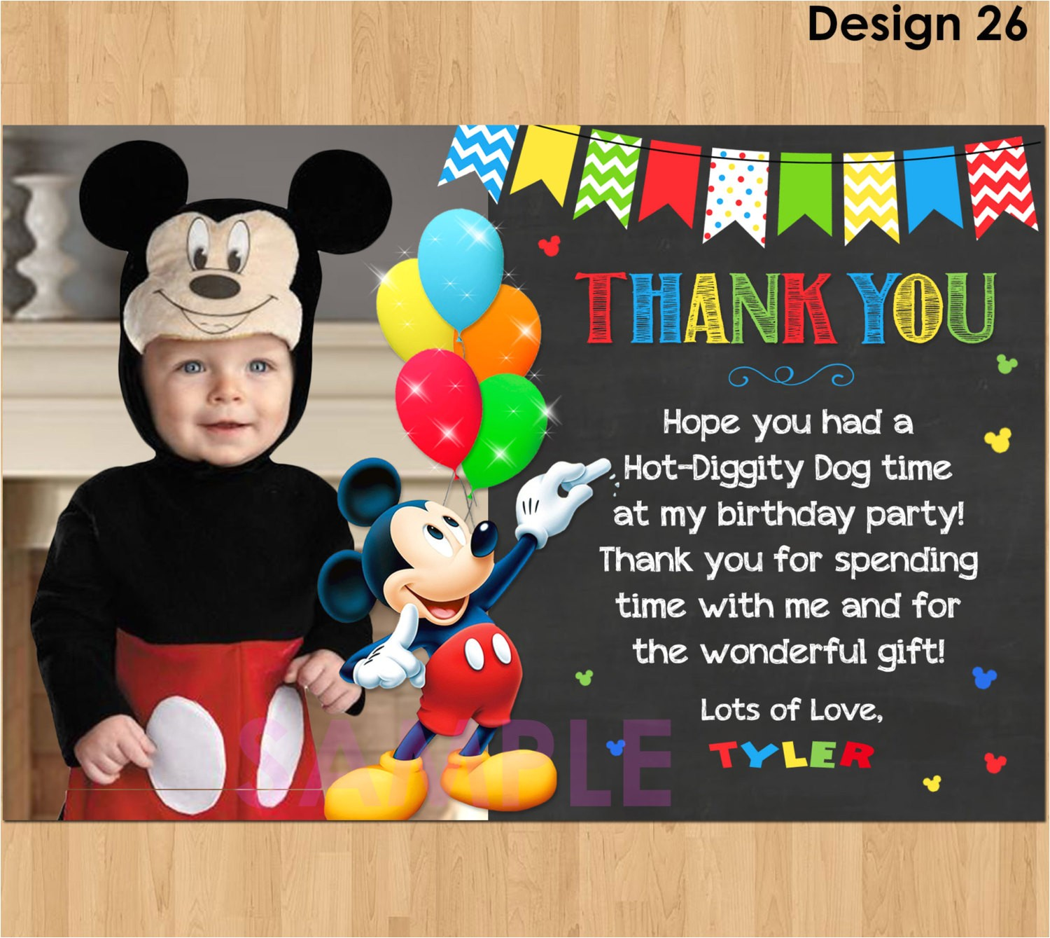 thank you for birthday invitation