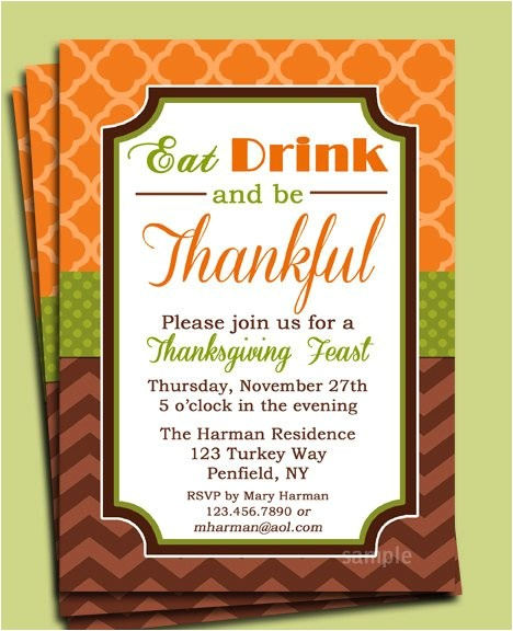 eat drink and be thankful thanksgiving