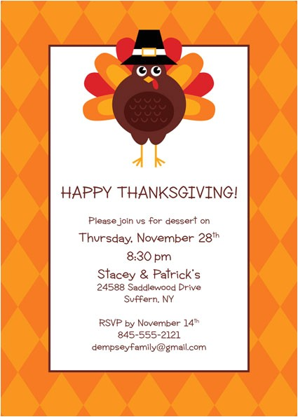 office thanksgiving party invitations