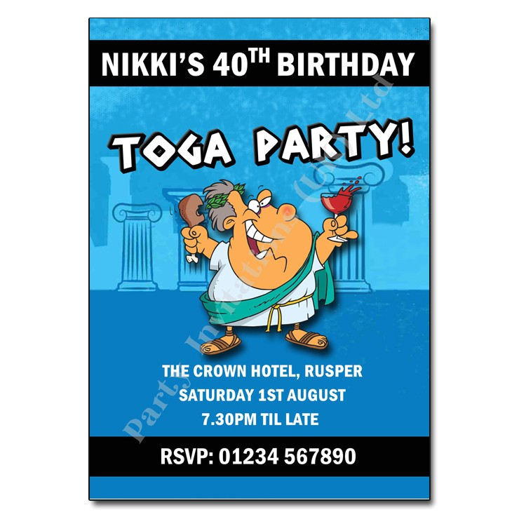 toga party
