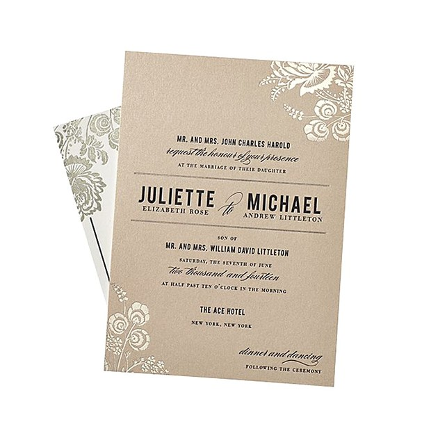 wedding invitation wording together with parents