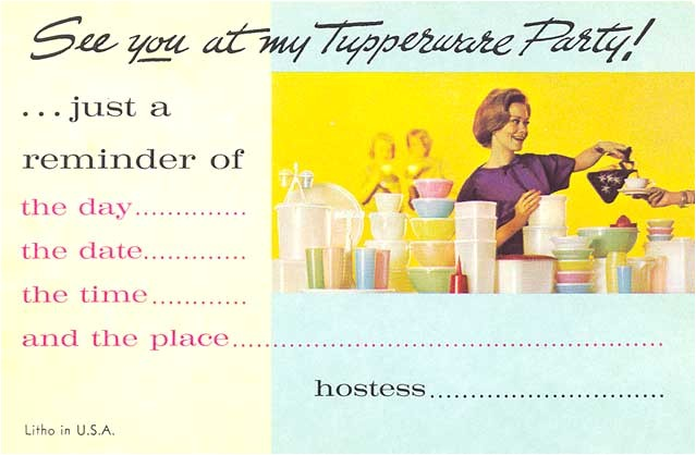 the tupperware chics celebration