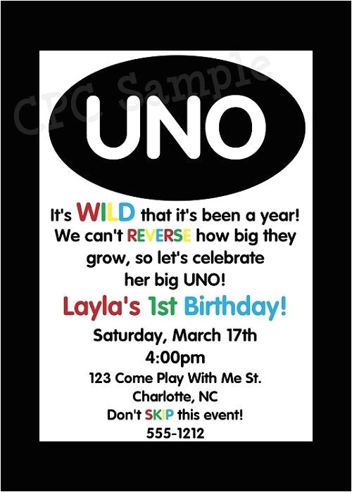 Uno Party Invitations 1000 Images About Uno theme Birthday Party On Pinterest