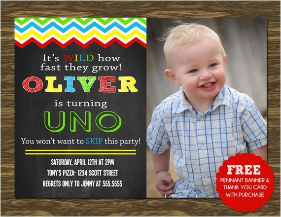 uno birthday invitation printable free