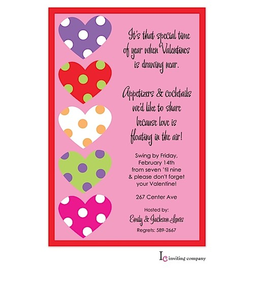 valentines party invitation