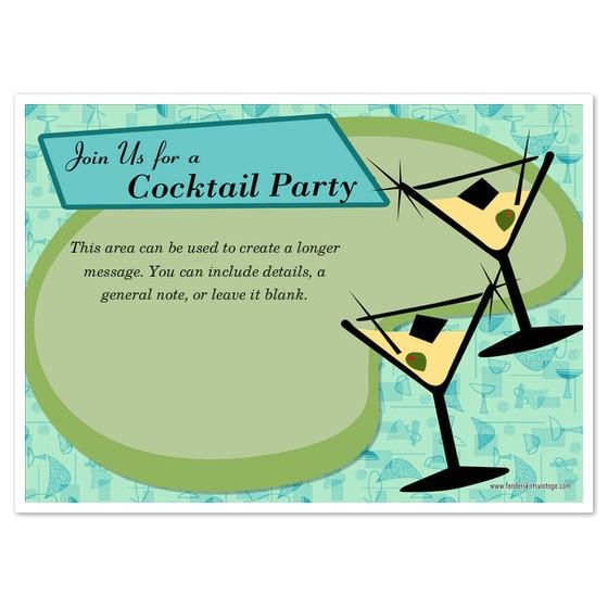 retro atomic cocktail party