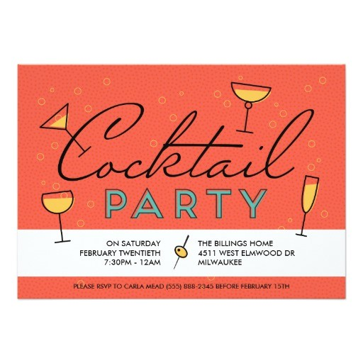 retro vintage cocktail party invitation 256330663698364648