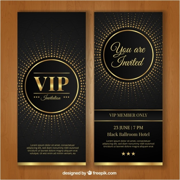 vip invitation template 1219766