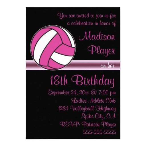 volleyball party ideas