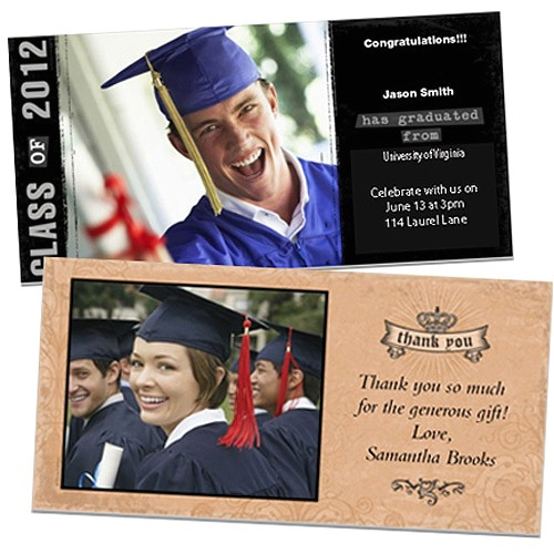 walmart graduation invitations template