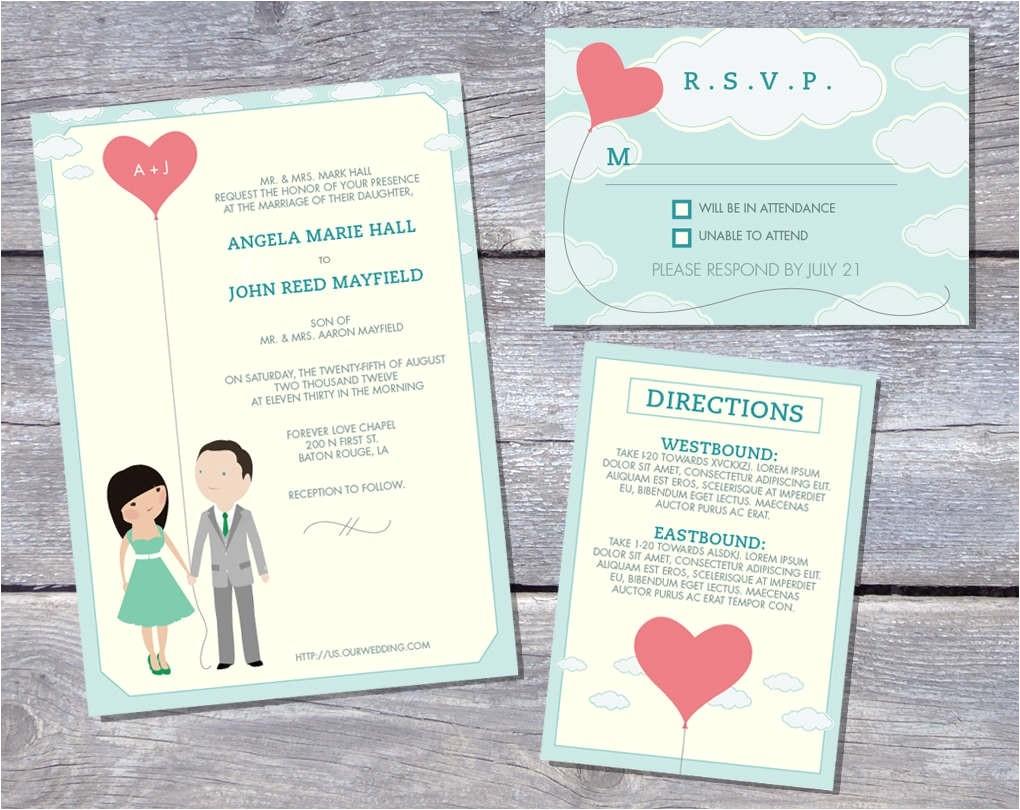 prepare free wedding invitation