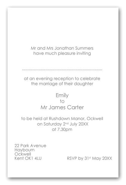 post wedding reception inserts 373215