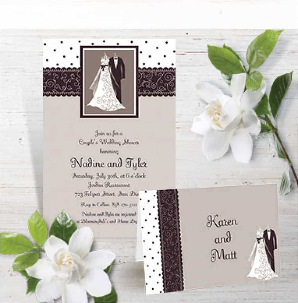 wedding invitations party city