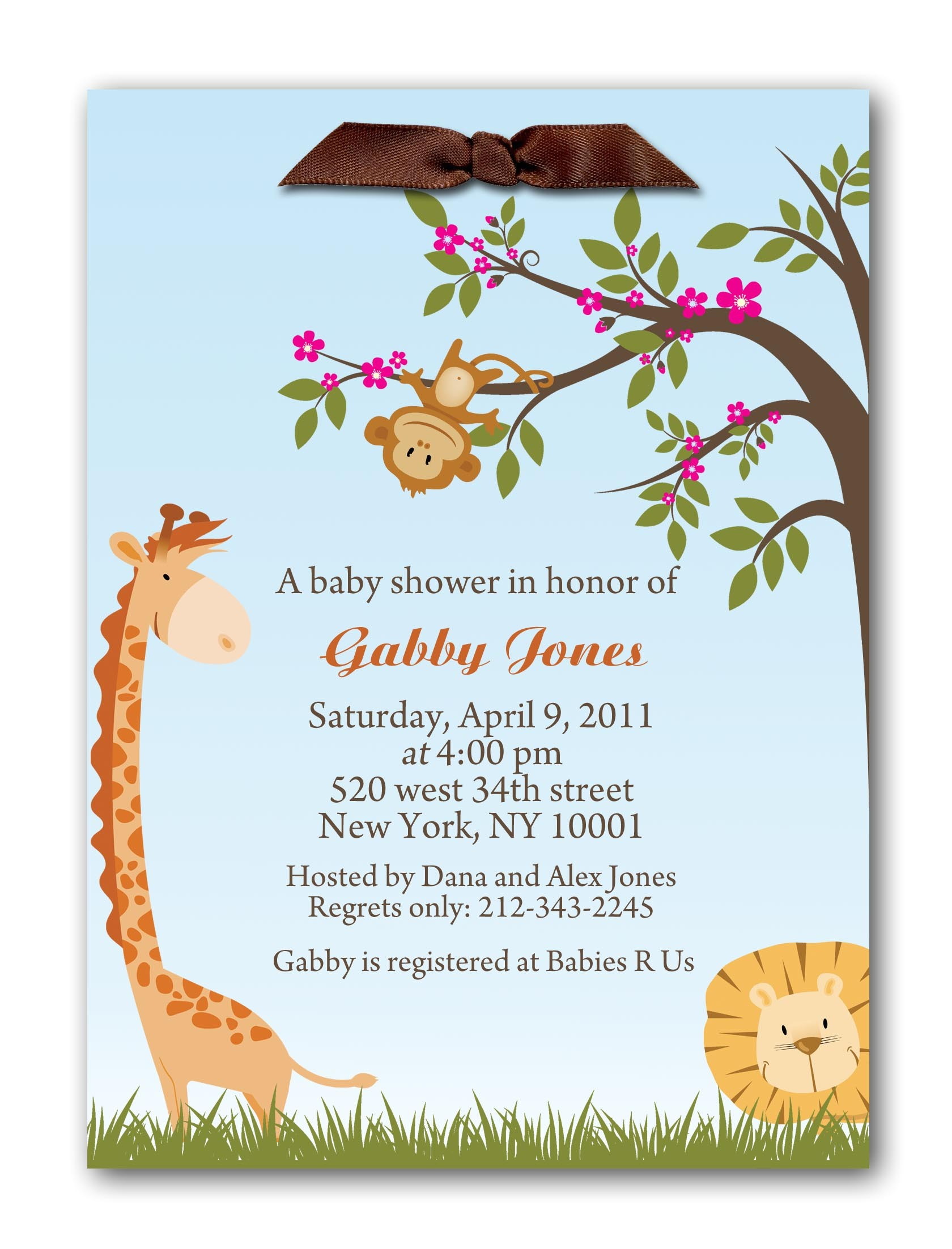 welcome party invitation template
