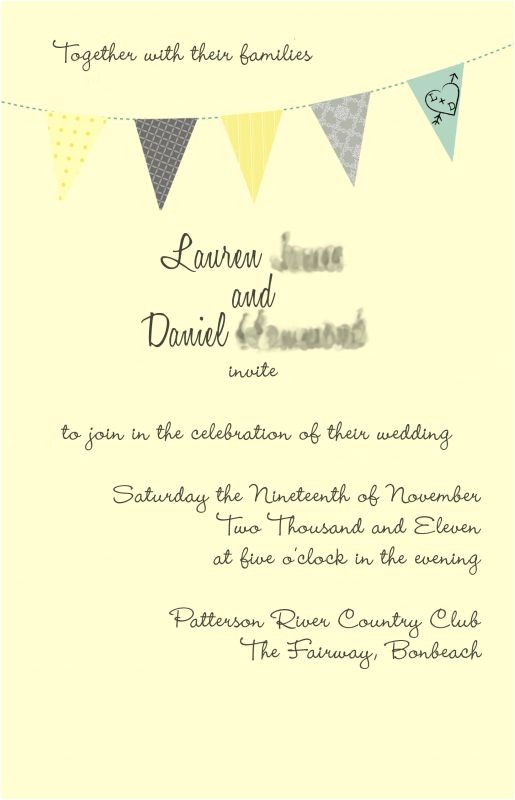 What to Say On Wedding Invitations which Version Looks Better Weddingbee