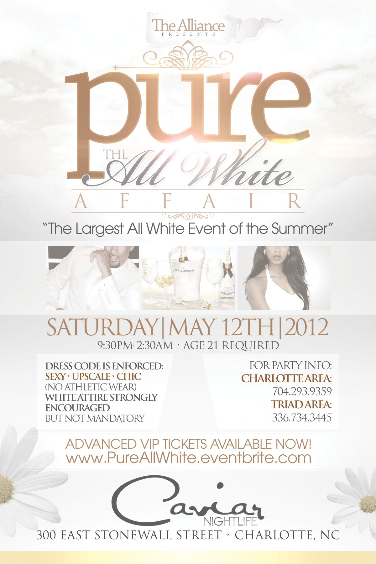 awesome all white party invitations ideas