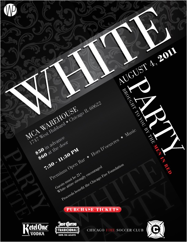 White Party theme Invitations White Party Invitations Oxsvitation Com