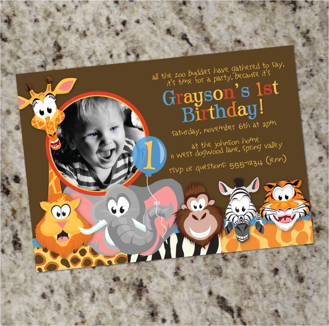 zoo animals wild animals photo birthday