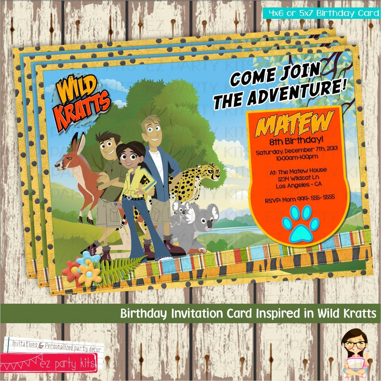 wild kratts creature power birthday