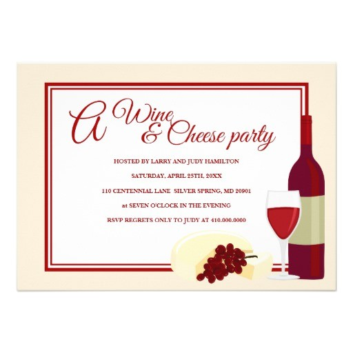 wine cheese party invitations 161408488006065121