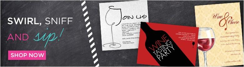 wine tasting wording for invites