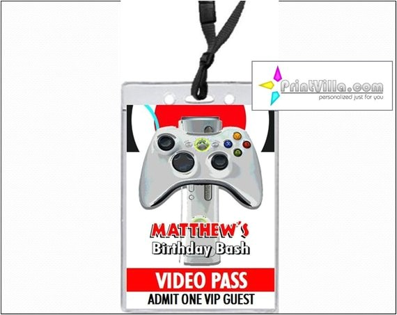 xbox video vip pass birthday party