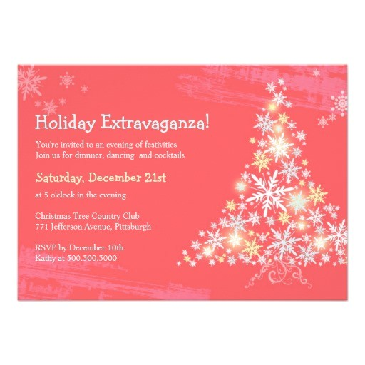 post employee holiday party invitation 397080
