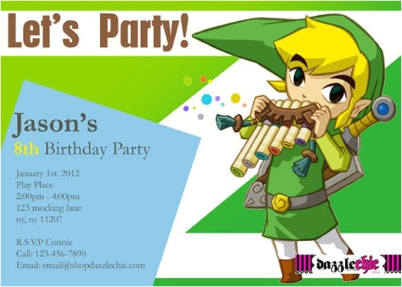 zelda link party invite only