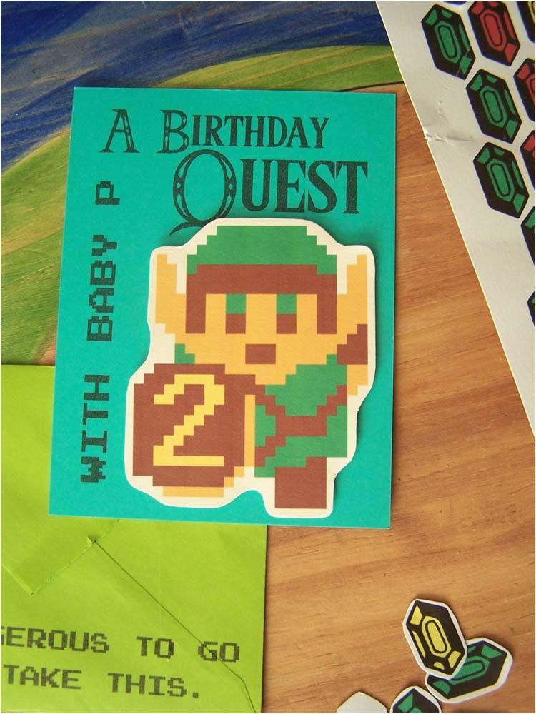 Zelda Party Invitations Night Garden Blog Zelda Invitations Featuring Our Hero Link