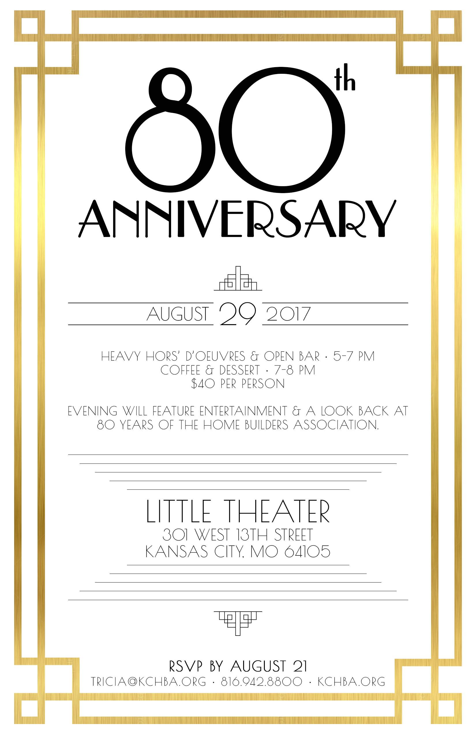 free printable 80th birthday invitations