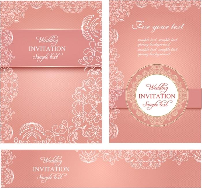 inspiring wedding invitation illustrator templates picture