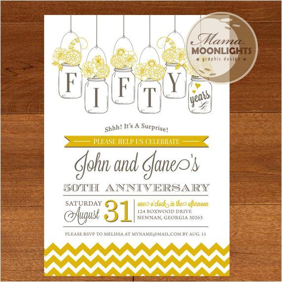 wedding anniversary party printable