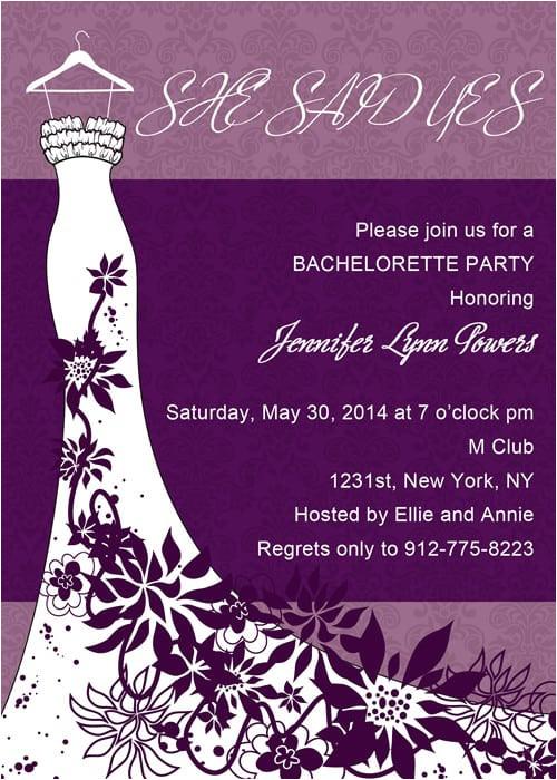 bachelorette party invitation download