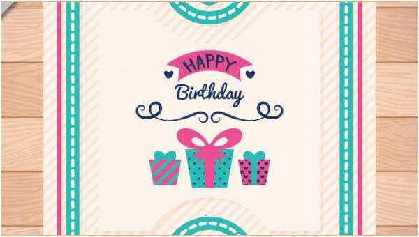 birthday invitation psd