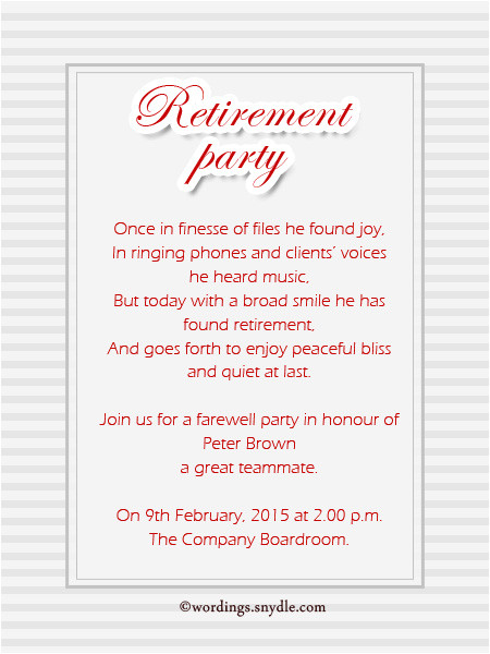 retirement invitation card matter in hindi