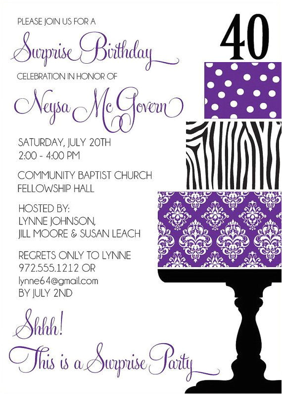 birthday invitations wording for adult