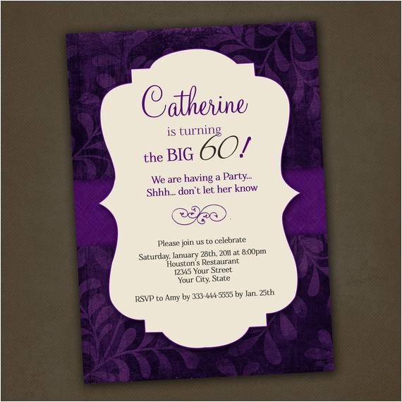 adult birthday invitations printable