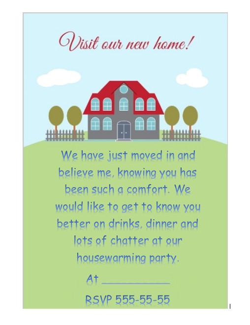 housewarming party invitation templates 4077