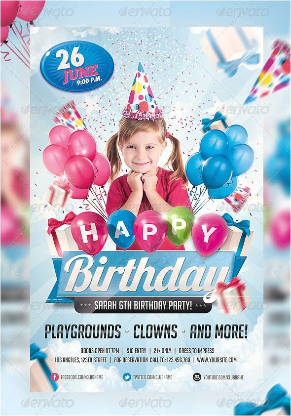 45free psd birthday invite templates in psd