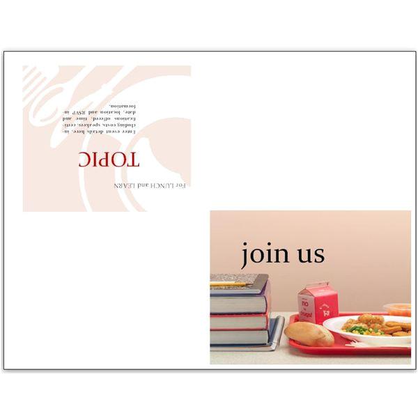 party invitation template quarter fold