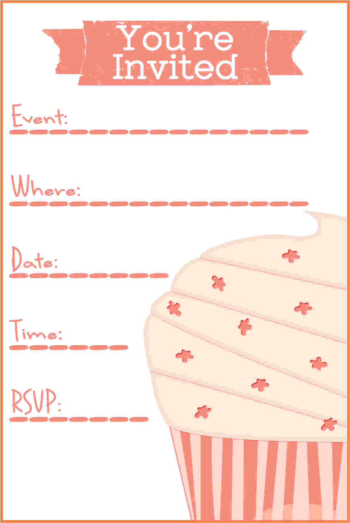 7 printable invitation templates