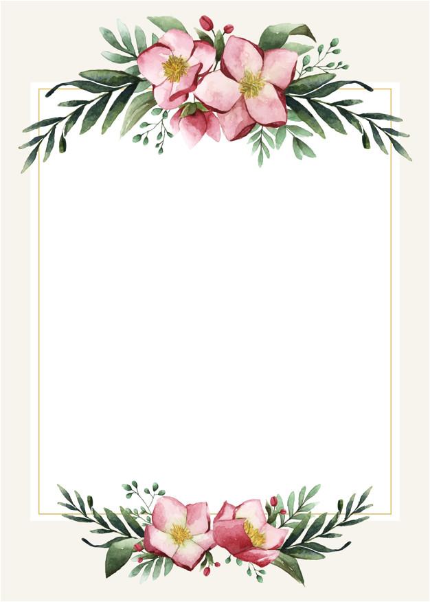 blank wedding card design 4520379