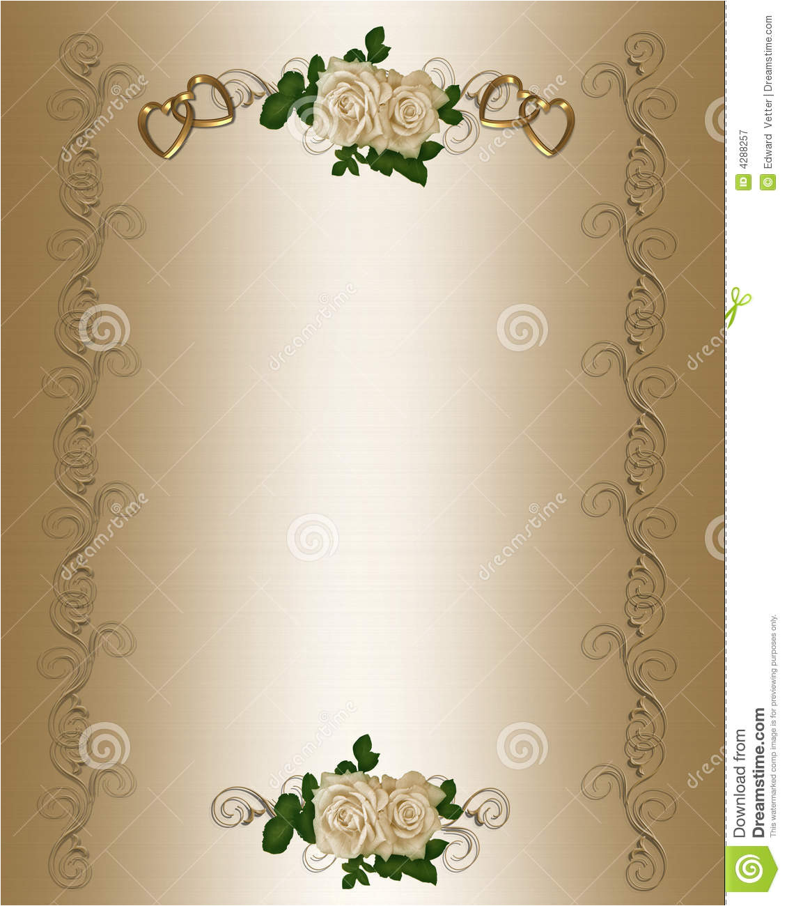 royalty free stock photography wedding invitation template image4288257