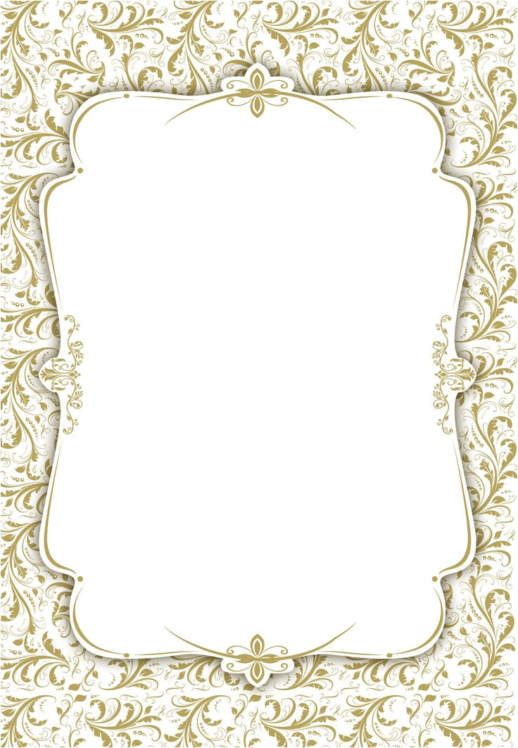 blank wedding invitation template
