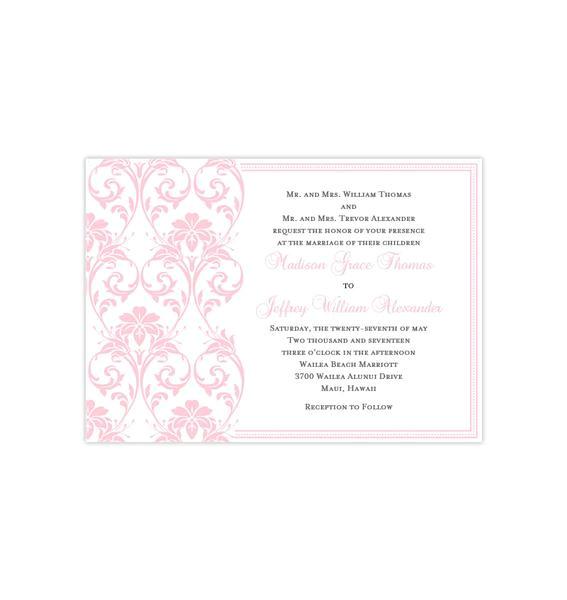 wedding invitations templates printable for all budgets