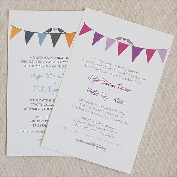 Bunting Wedding Invitation Template Free 52 Invitation Templates Free Premium Templates