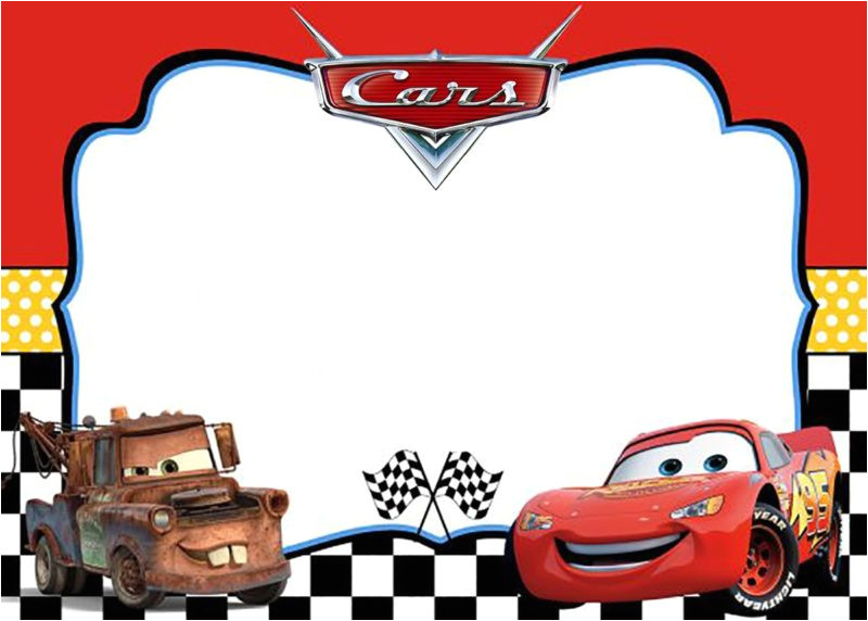 cars invitation templates free and printable for boys and girls