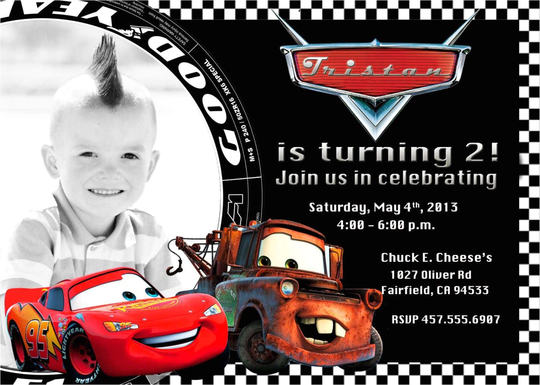 birthday invitation card template cars cars birthday invitations 3